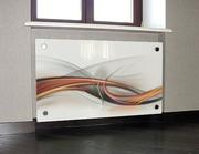 Экраны для батарей (радиаторов) из стекла.