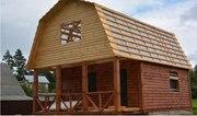 Дом-Баня из бруса готовые срубы с установкой-10 дней недорого Борисов