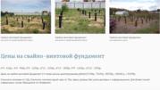 Установка Свайно-Винтого Фундамента под ключ в Борисовском районе.