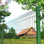 Евроограждения. 3d ограждение. Сетчатый забор. Еврозабор.