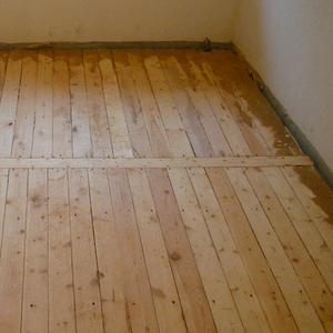 Монтаж деревянных полов с утеплением Борисов и район