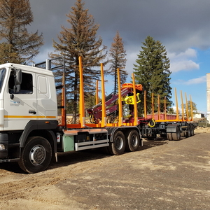 Услуги по перевозке леса сортиментовозом РБ