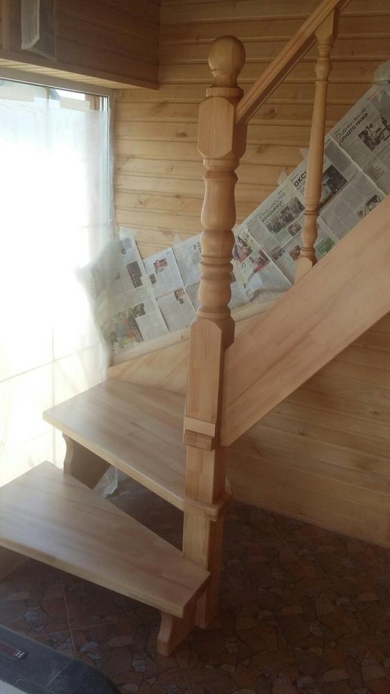 Лестницы (дерево,  металл). Отделка бетонных лестниц деревом 10