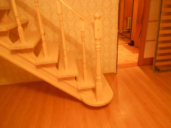 Лестницы (дерево,  металл). Отделка бетонных лестниц деревом 5