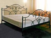 Кровати из ковки