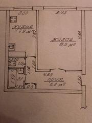 Продам 1-комнатную квартиру в г. Борисов